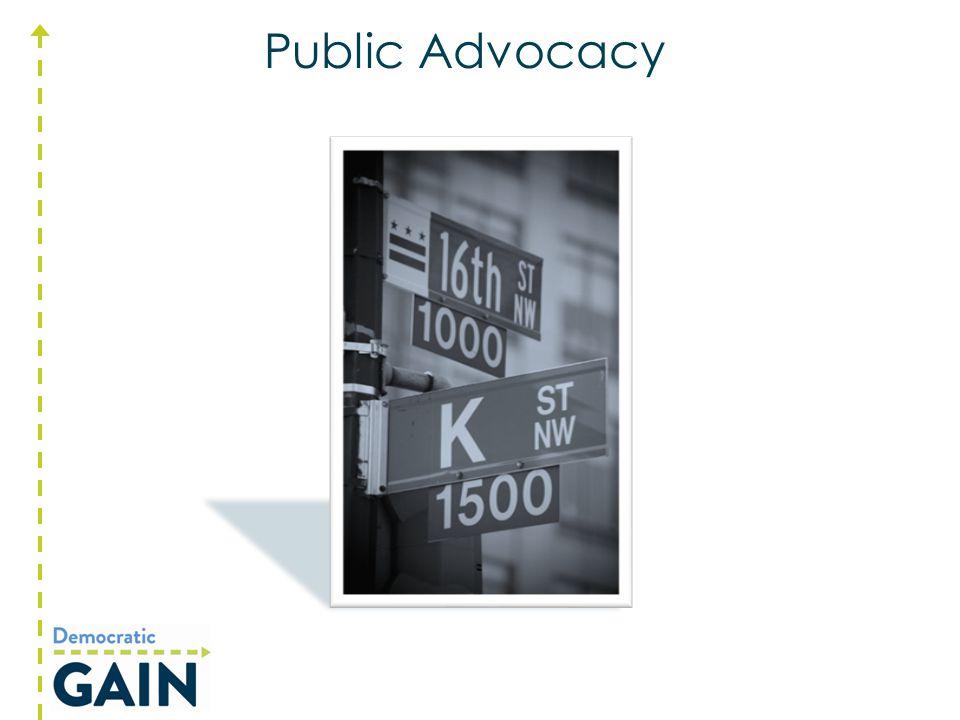 Public Advocacy