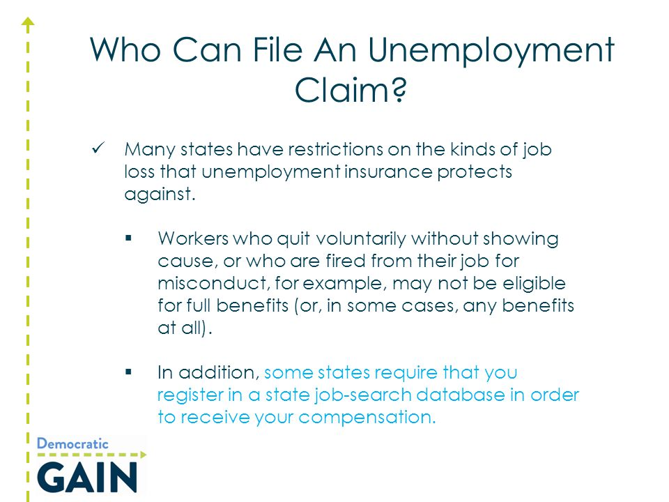 Unemployment Insurance Resources to Get You Back in the Game.