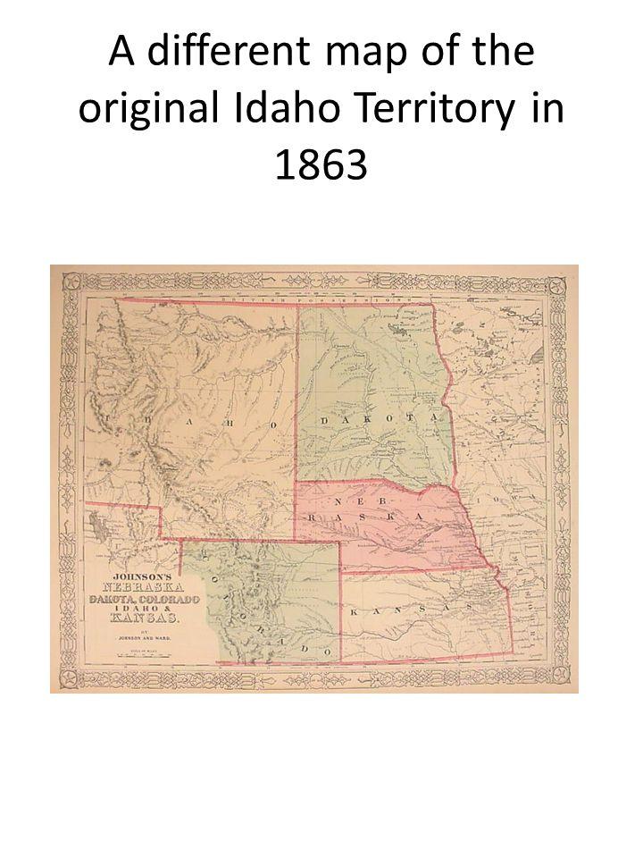 Montana Territory The Territory of Montana was established in 1864 taking property from the Territories of Dakota and Idaho.