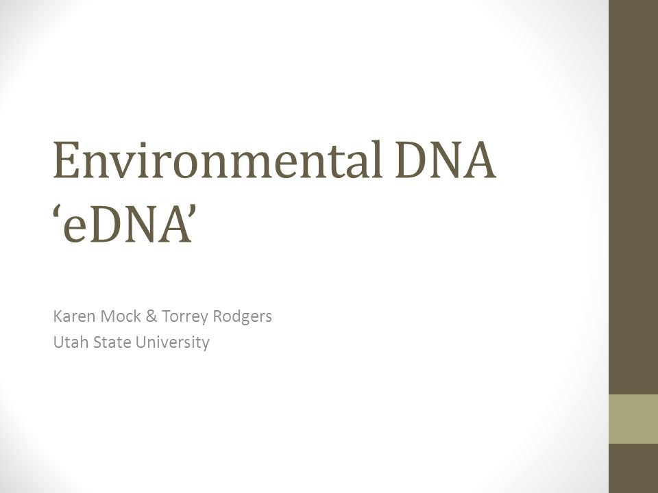 Noninvasive Genetic Sampling