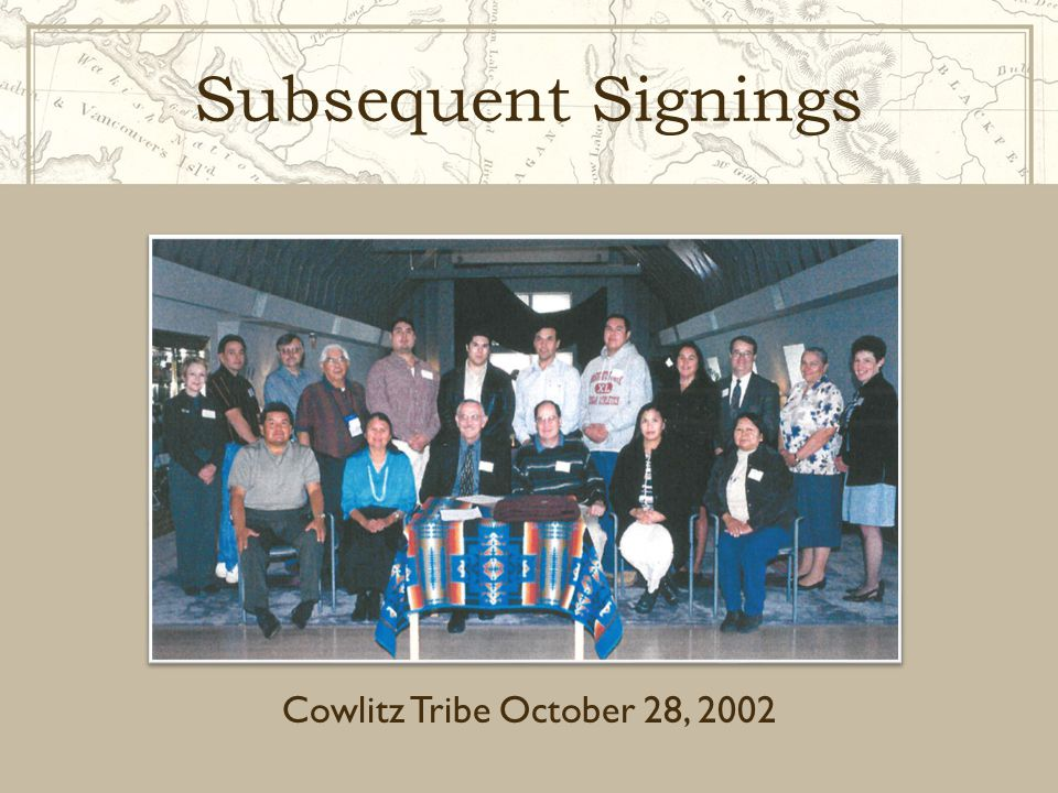 Inter-Institutional MOU …to strengthen the instruction and scholarship about, and services to Native Americans offered by each institution… March 24, 2008  Lewis-Clark State College  North Idaho College  Northwest Indian College  University of Idaho  Washington State University