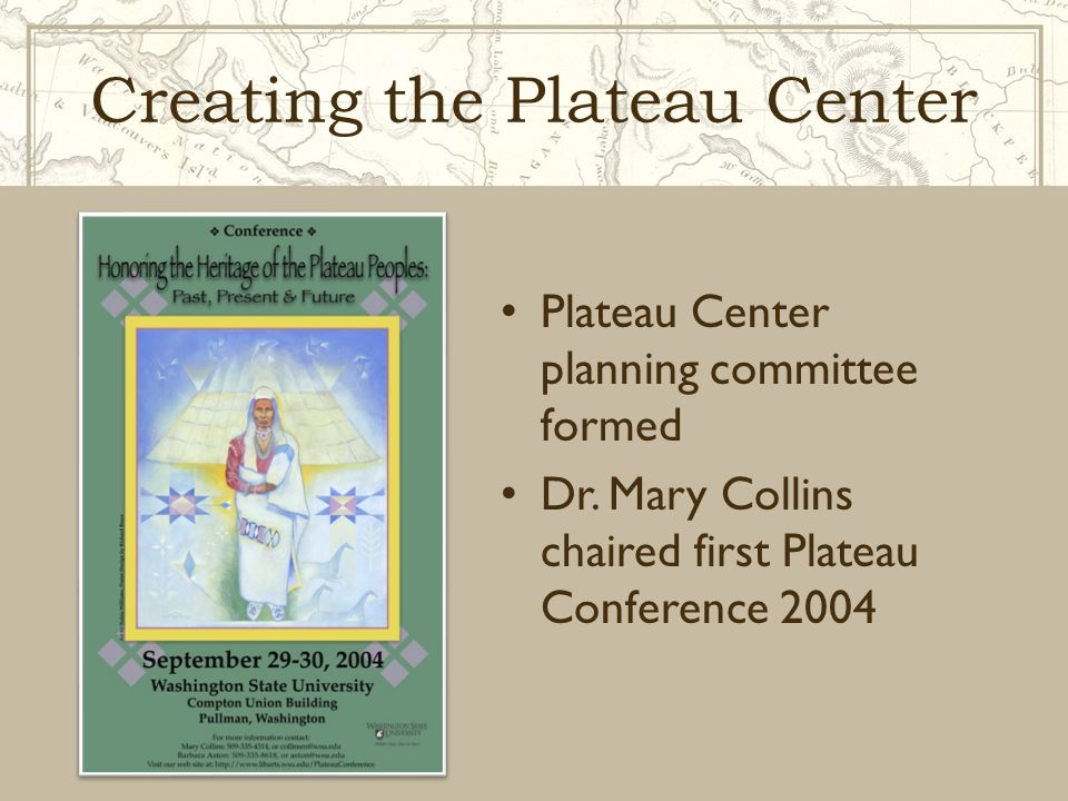 Creating the Plateau Center Interim Director, Dr.