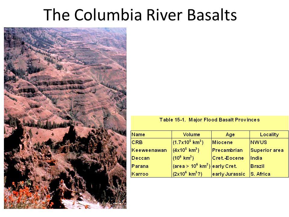 The Columbia River Basalts