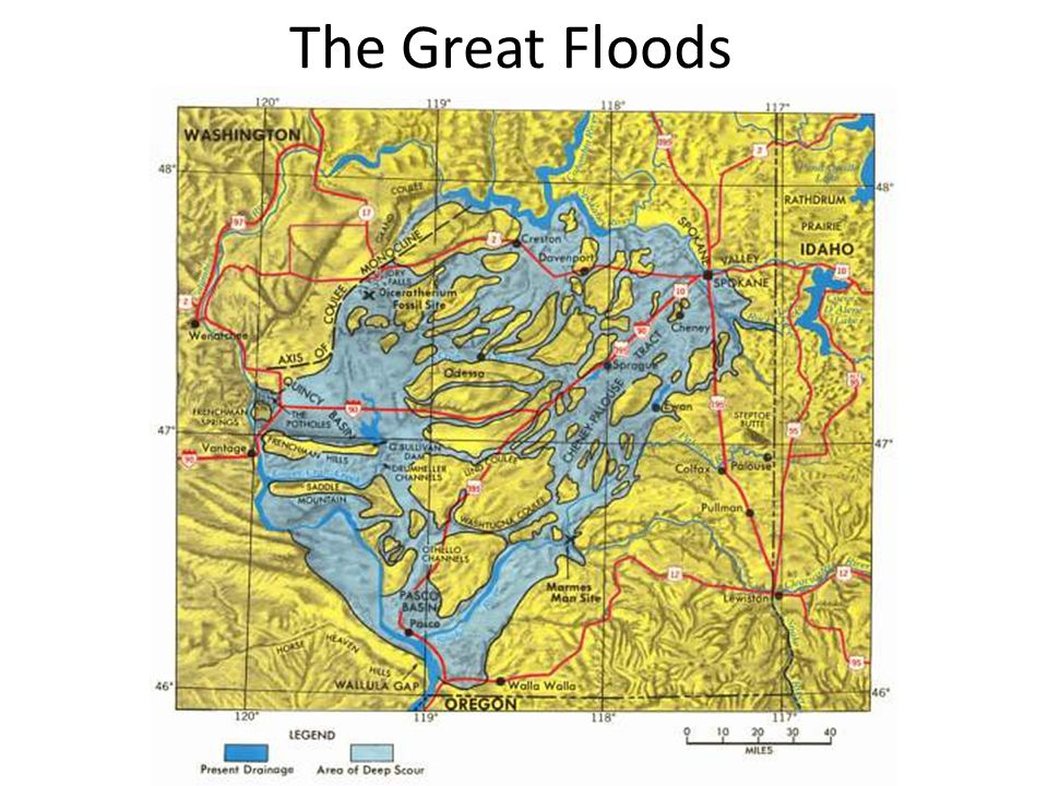 The Great Floods ~ 12,000 years ago