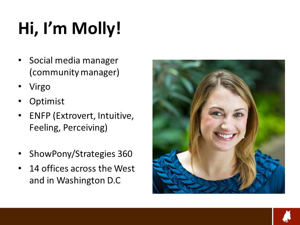 Hi, I'm Molly.