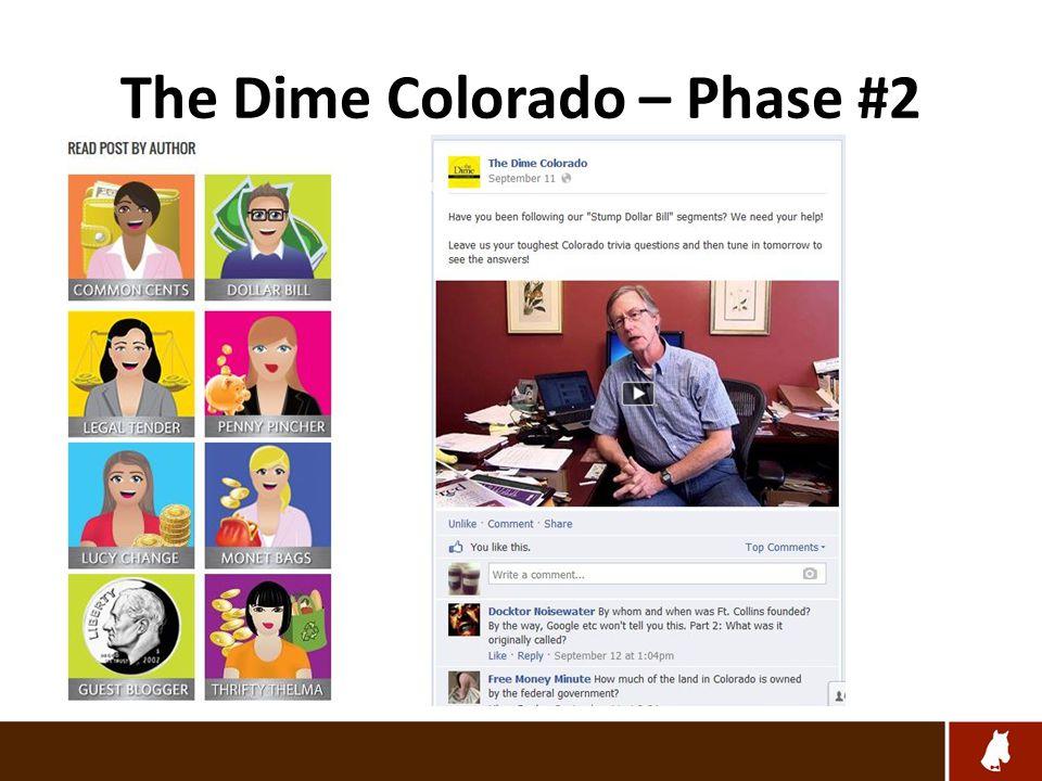 The Dime Colorado – Phase #2