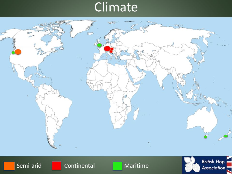 Semi-aridMaritimeContinental Climate