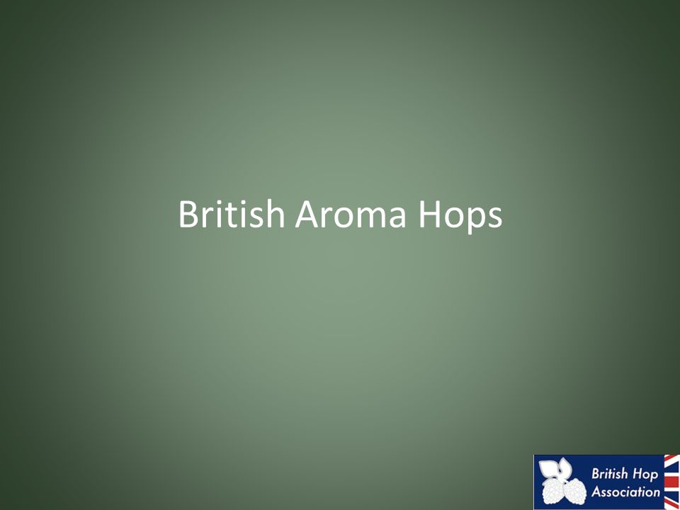 British Aroma Hops