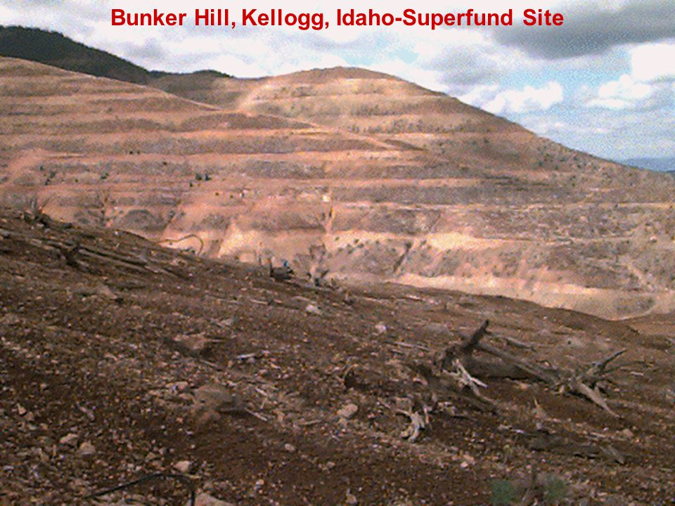 Bunker Hill, Kellogg, Idaho-Superfund Site