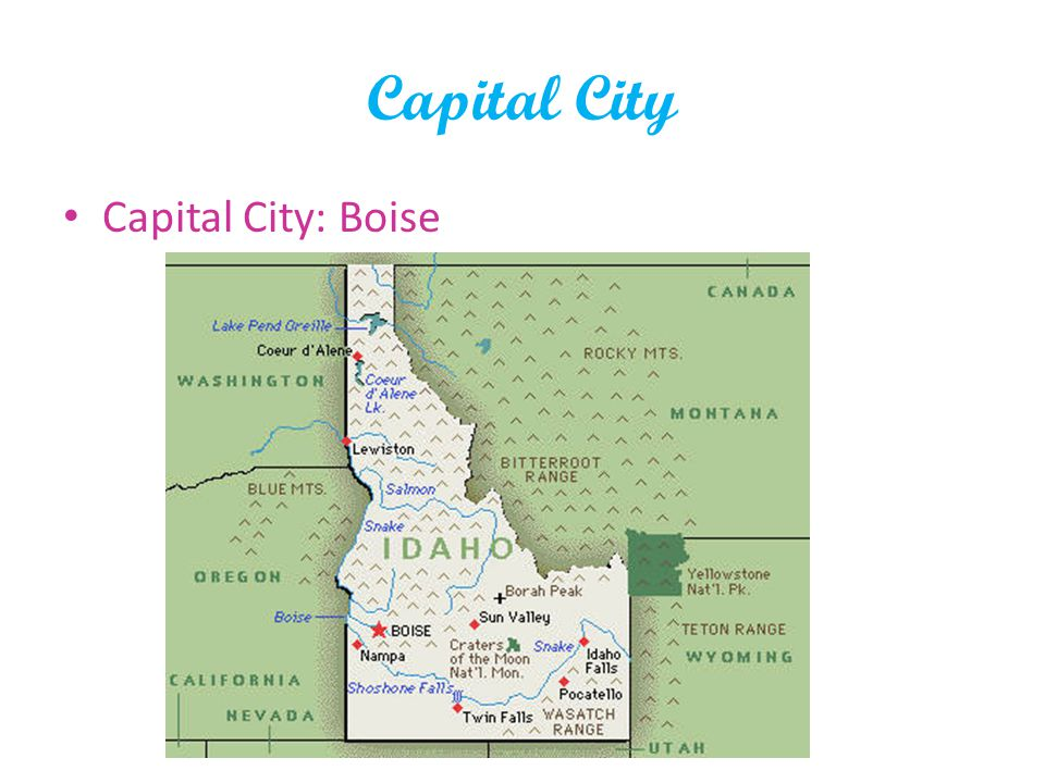 Capital City Capital City: Boise