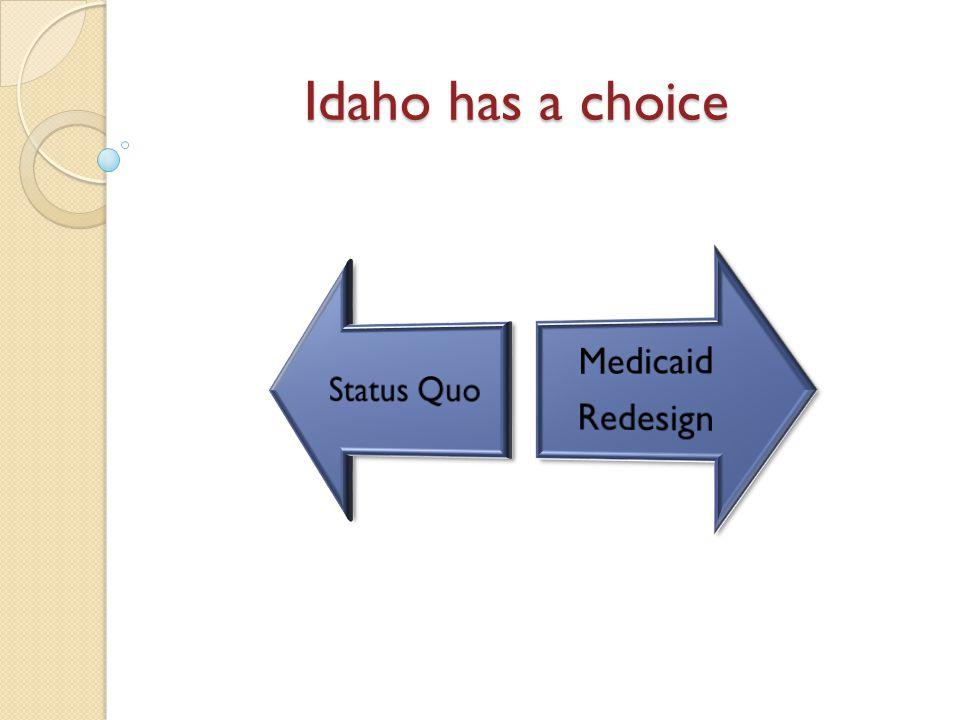 Idaho has a choice
