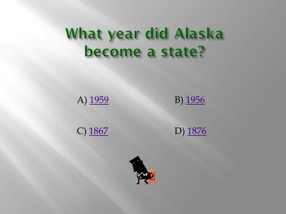 A) 19591959B) 19561956 C) 18671867D) 18761876