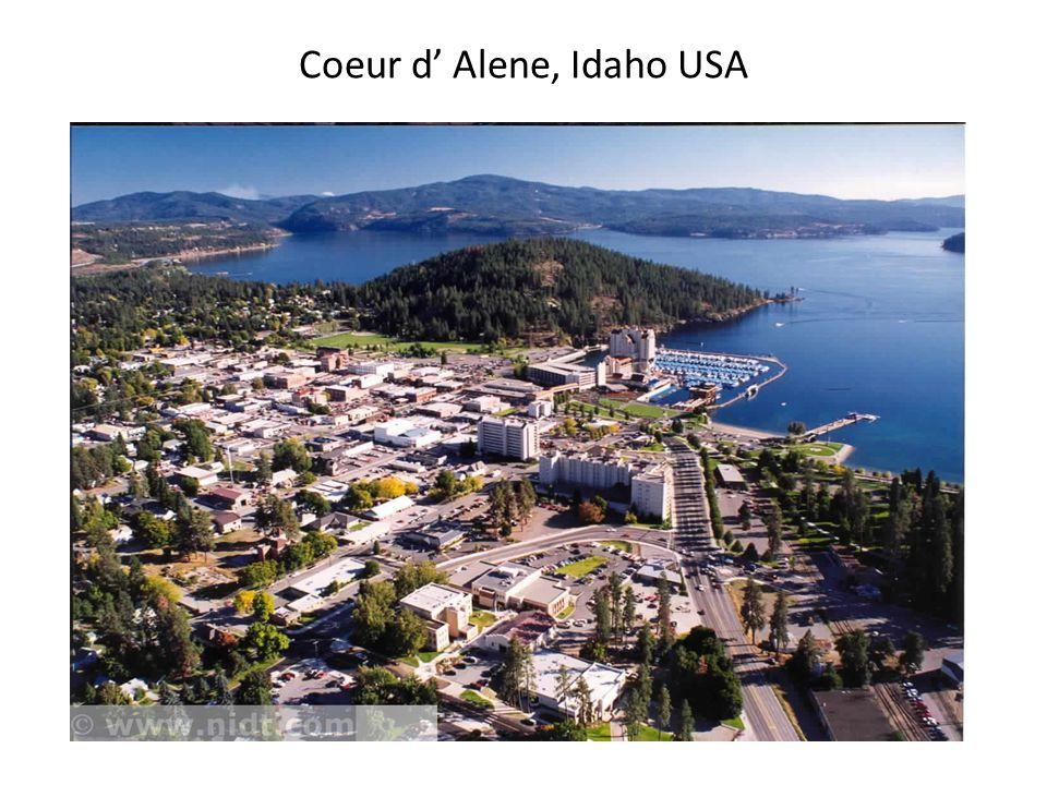 Coeur d' Alene, Idaho USA