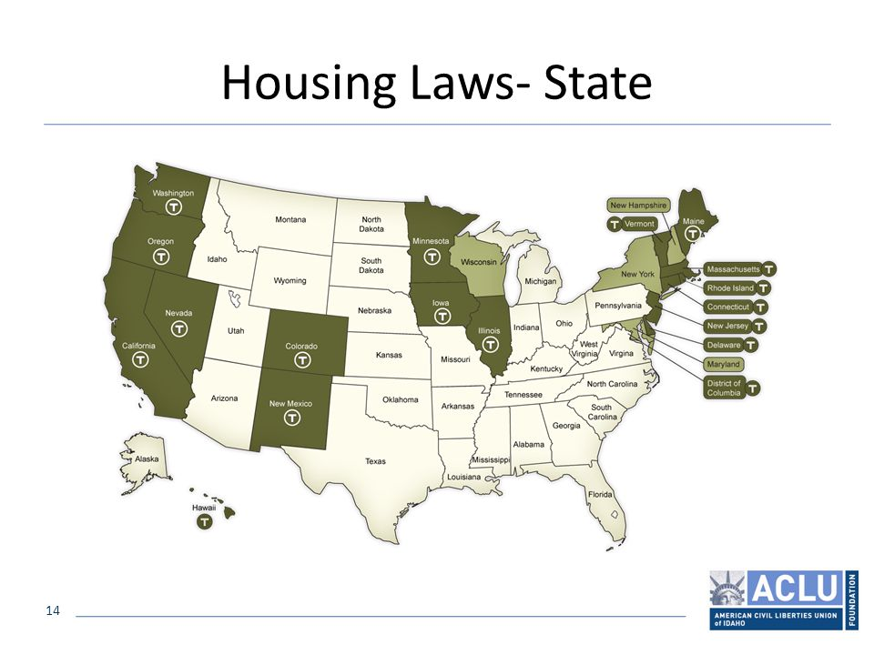 14 Housing Laws- State