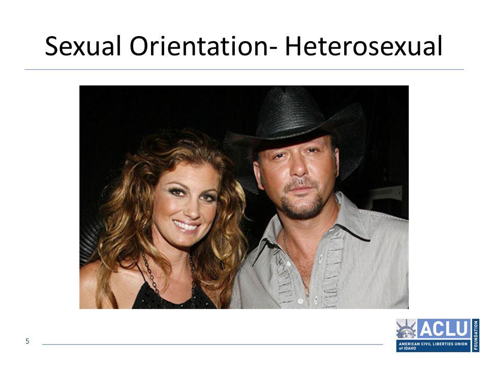5 Sexual Orientation- Heterosexual