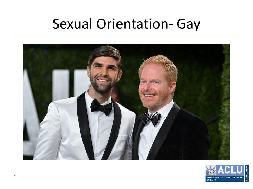 7 Sexual Orientation- Gay