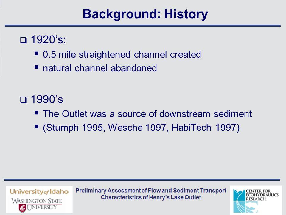Bankfull Description Mean Annual Flow Bankfull Flow Low Flow Bankfull Flow 100 Year Flood