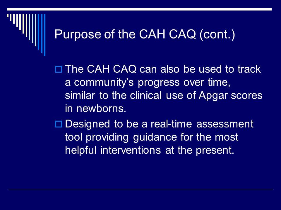 Top 10 CAH Community Apgar Mean Score