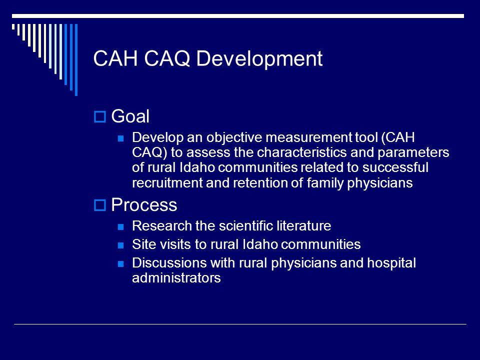 Bottom 10 CAH Community Apgar Mean Score