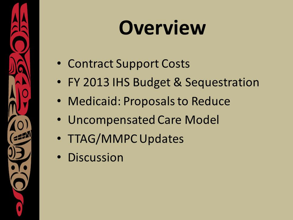 Summary of CRS Medicaid Proposals to Reduce Costs FMAP changes – Floor/Ceiling changes – Eliminate exceptions for enhanced FMAP Eliminate Managed Care Barriers – States can not mandate enrollment for duals, AI/AN, and children w/special need Eliminate/reduce DSH allotments Limit DME