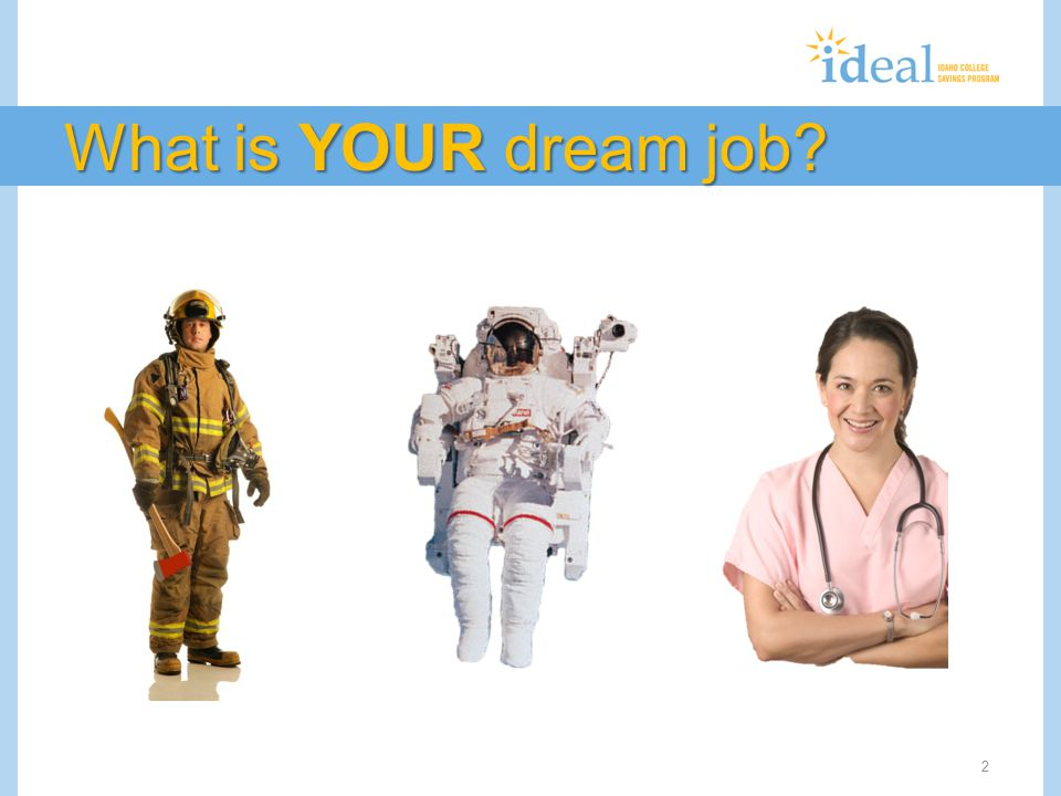 What is YOUR dream job? 2
