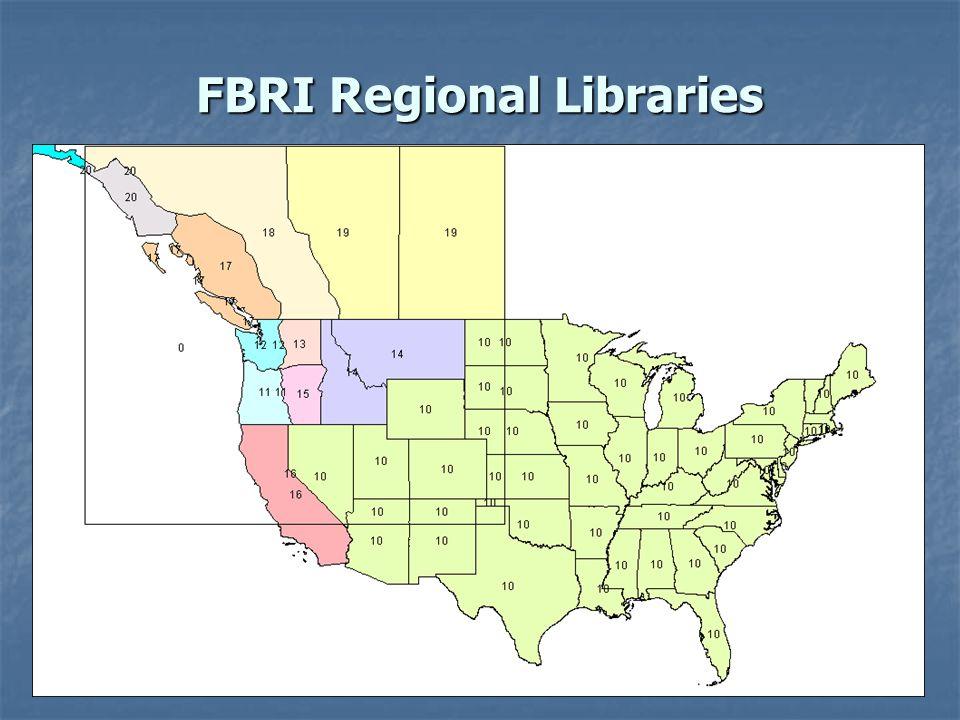 FBRI Regional Libraries