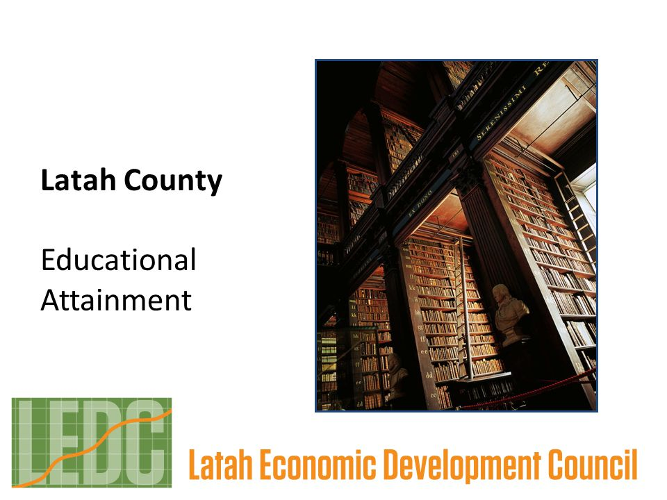 Latah County Educational Attainment