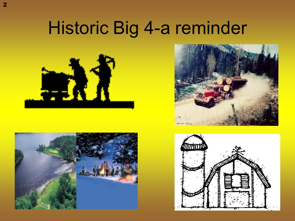Historic Big 4-a reminder 2