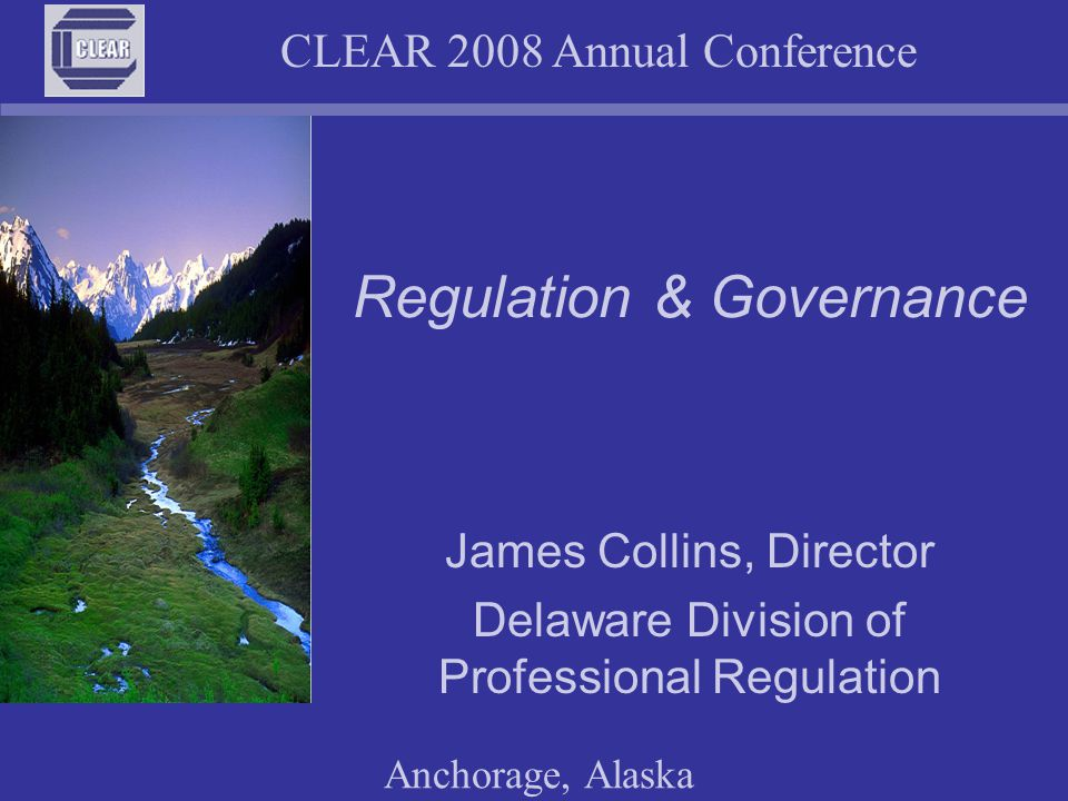 CLEAR 2008 Annual Conference Anchorage, Alaska Continuing competency Knowledge and skill are perishable commodities – without some level of effort they fade over time Applicants for licensure may cram for any tests or examinations necessary to obtain a licence – with the typical poor retention afterwards