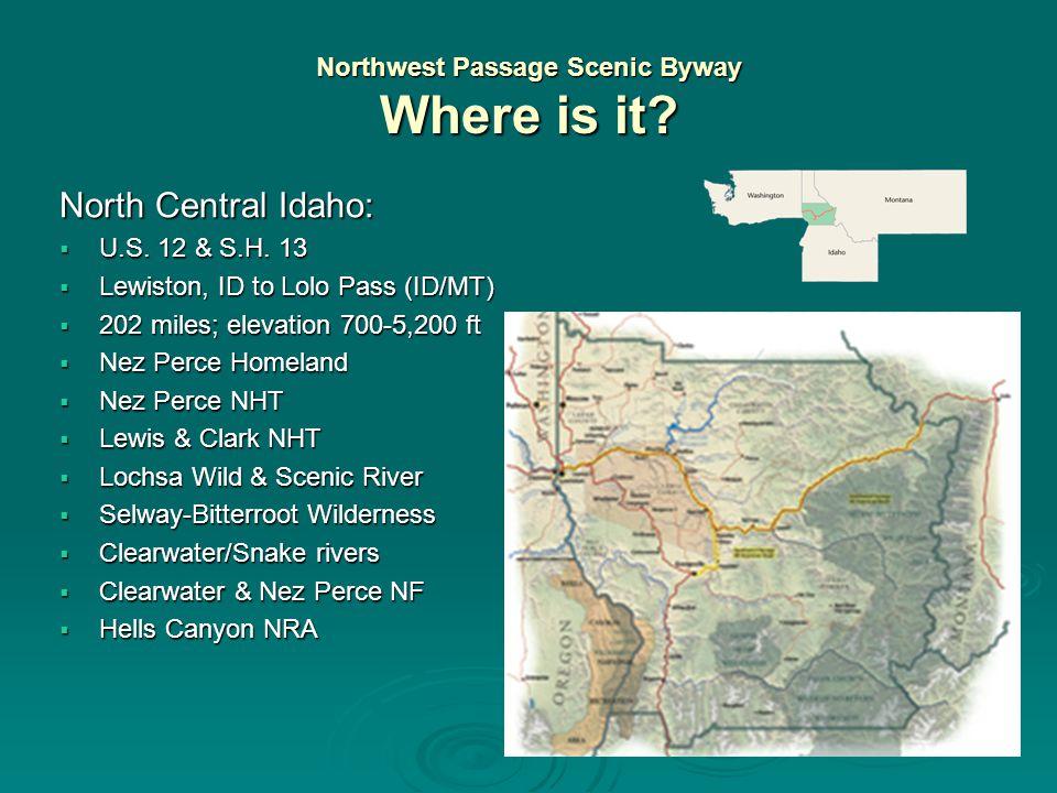 Byway Resources  Travelers: www.byways.org www.byways.org  Grants/Designations: www.bywaysonline.org www.bywaysonline.org  Education/Resources: www.bywaysresourcecenter.org www.bywaysresourcecenter.org  Idaho State Byways: www.itd.idaho.gov/Byways  NW Passage Scenic Byway: www.northcentralidaho.info www.northcentralidaho.info Scott Eckberg/NPNHP: Scott_Eckberg@nps.gov Wanda Keefer/Port of Clarkston: wandaport@clarkston.com Mary Jahn/NWPSB Coordinator: jahnstudio@camasnet.com