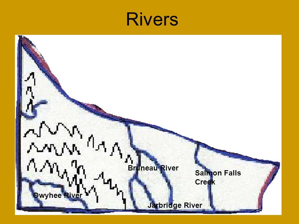 Rivers Owyhee River Bruneau River Jarbridge River Salmon Falls Creek