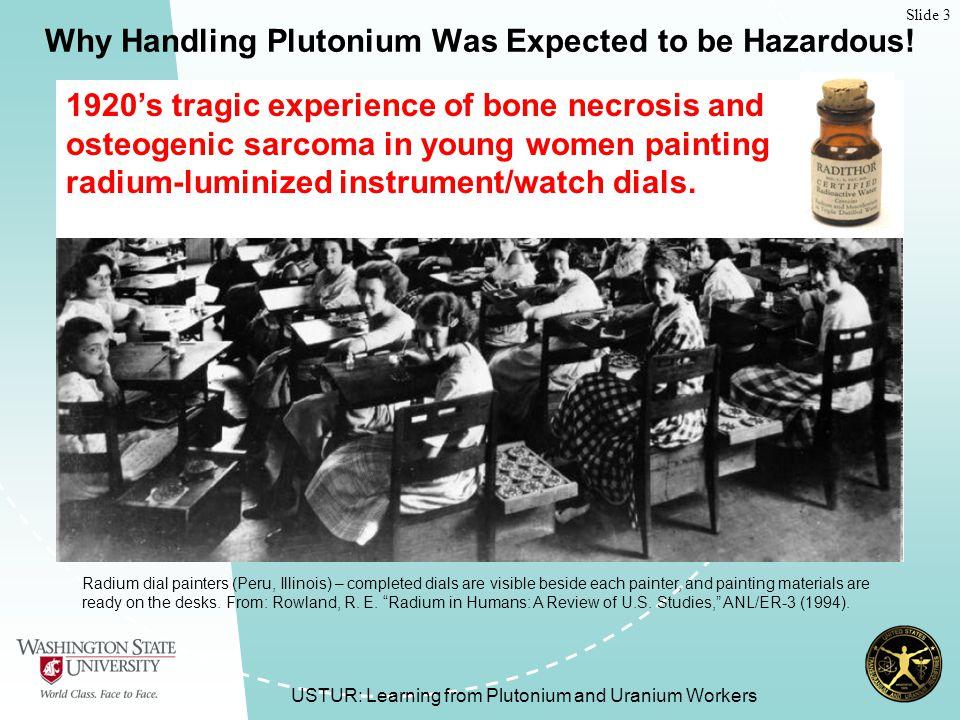 Slide 34 USTUR: Learning from Plutonium and Uranium Workers How Do We Determine Tissue Doses for Plutonium.