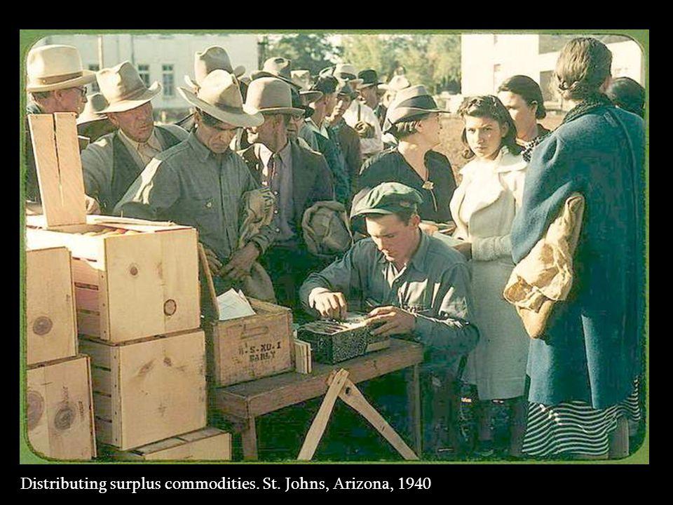 School children singing. Pie Town Fair, NM, 1940