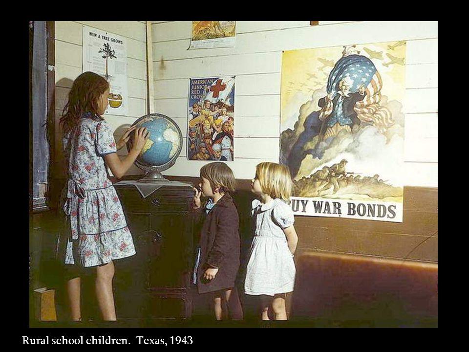 Rural school children. San Augustine County, Texas, 1943