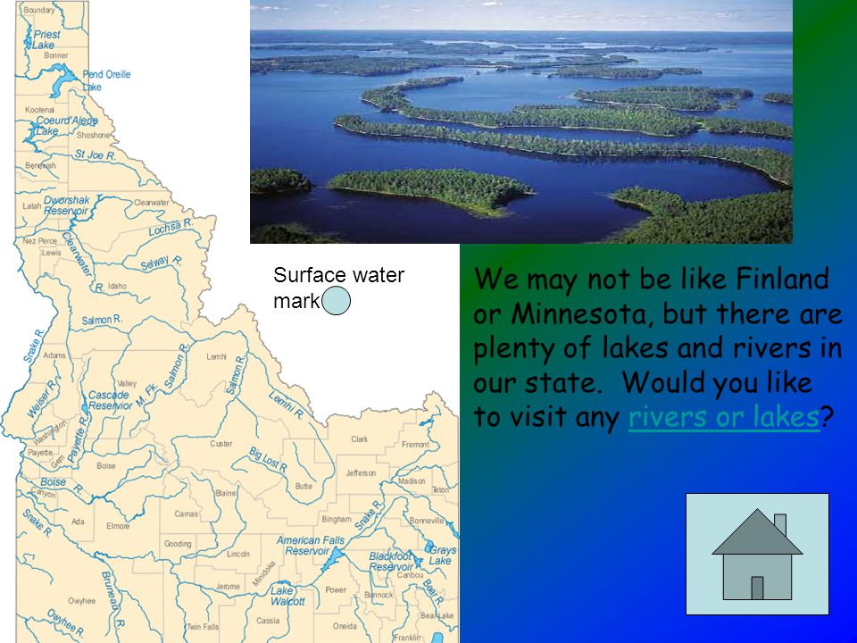 The trench stretches from Coeur d'Alene in the south, all the way into Canada.