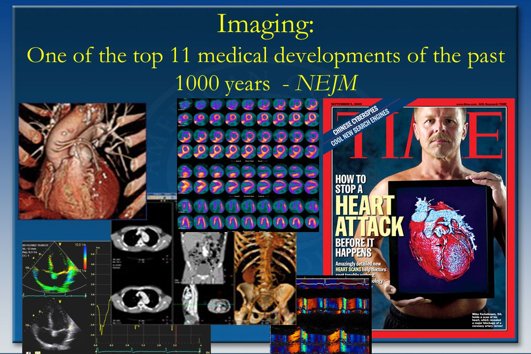 6 Imaging: One of the top 11 medical developments of the past 1000 years - NEJM