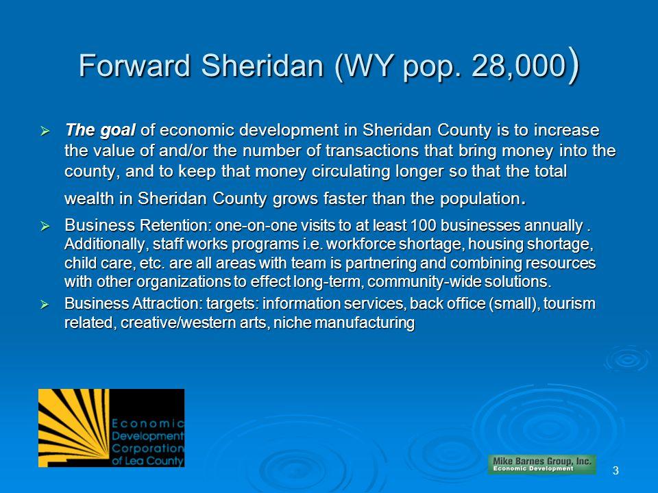 Forward Sheridan (WY pop.