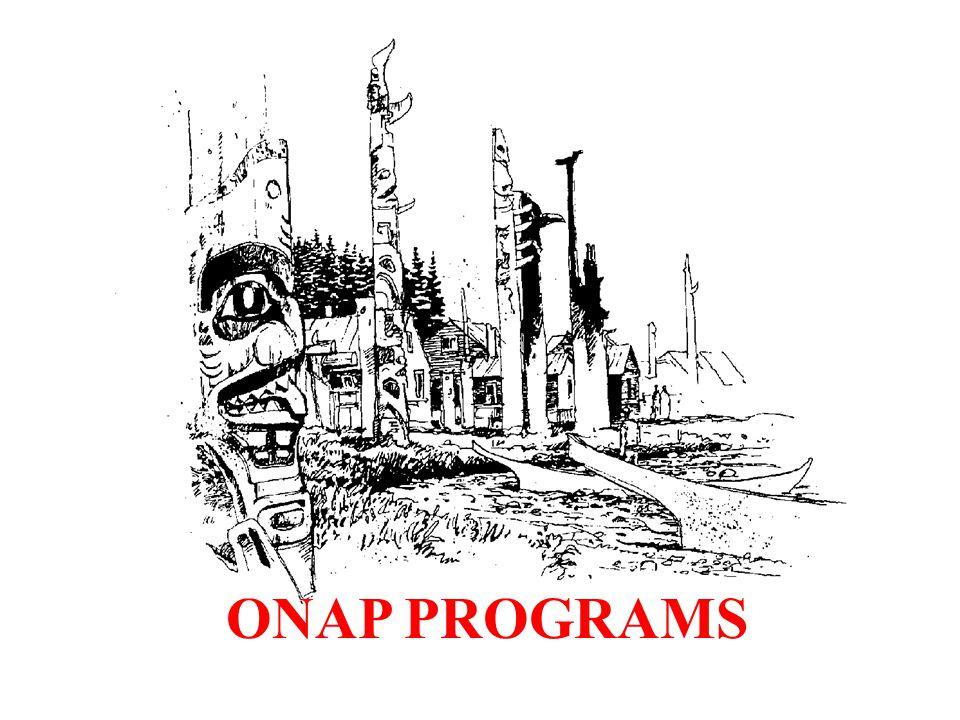 ONAP PROGRAMS