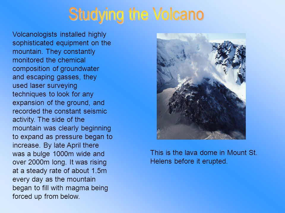 HOW DOES A VOLCANO WORK????