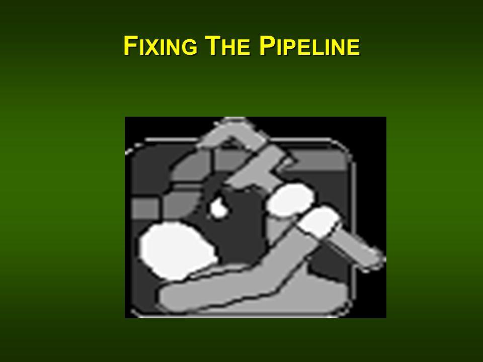 F IXING T HE P IPELINE