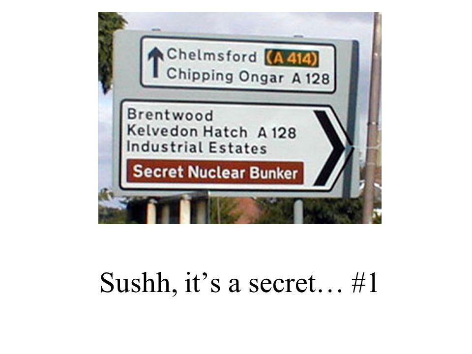 Sushh, it's a secret… #1