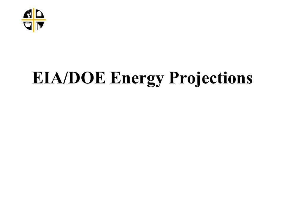 EIA/DOE Energy Projections