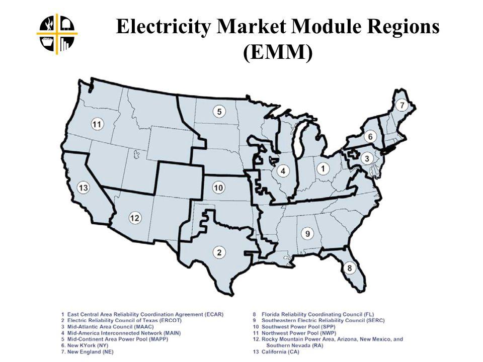 Electricity Market Module Regions (EMM)