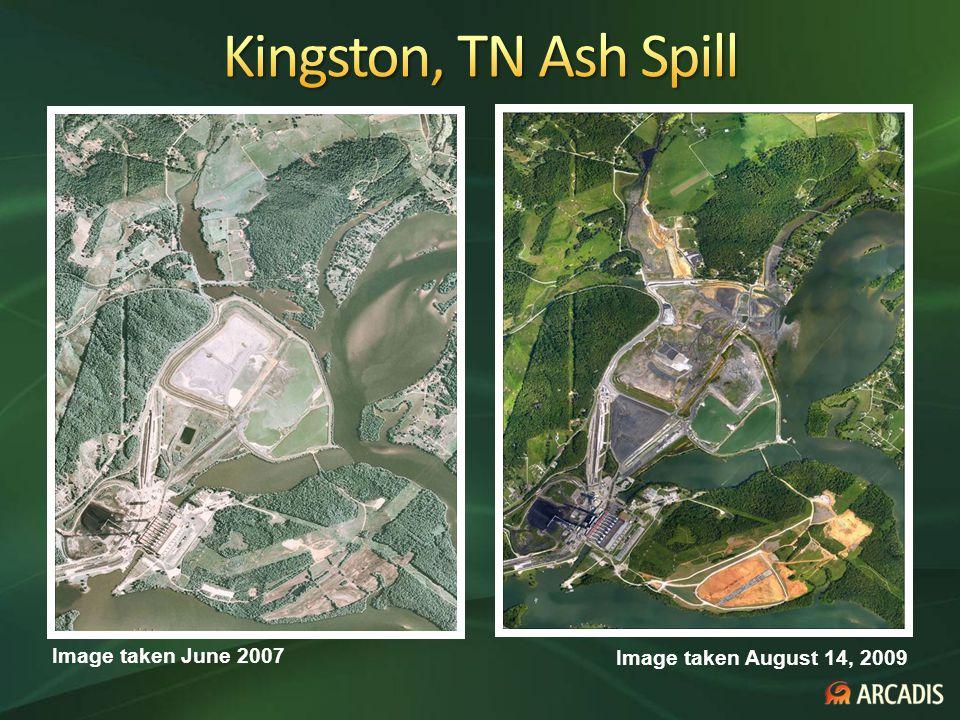 Image taken August 14, 2009 Image taken June 2007