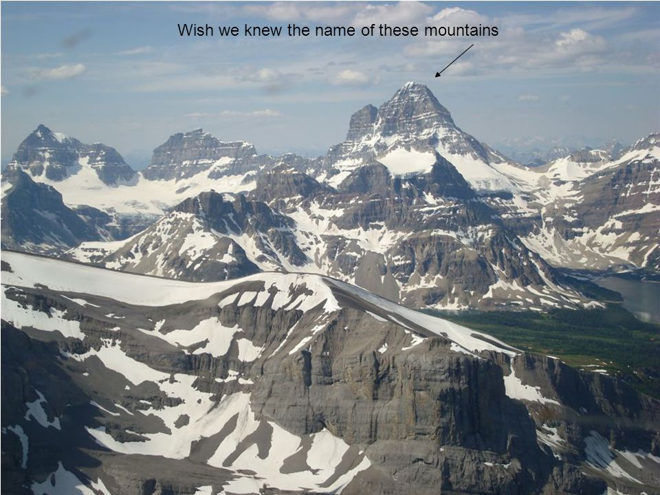 Wish we knew the name of these mountains