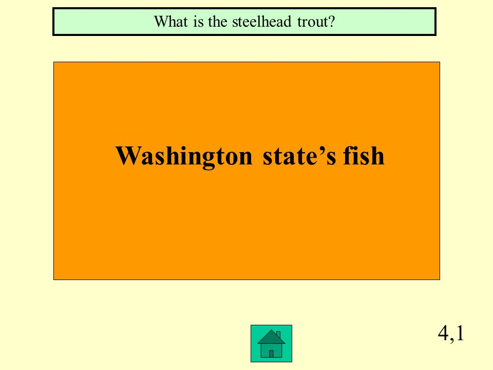3,4 Washington's Nickname What is the Evergreen state
