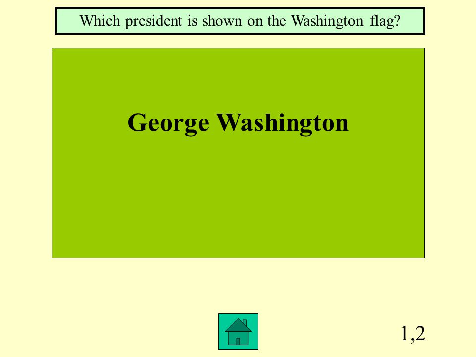 3,4 Washington's Nickname What is the Evergreen state?