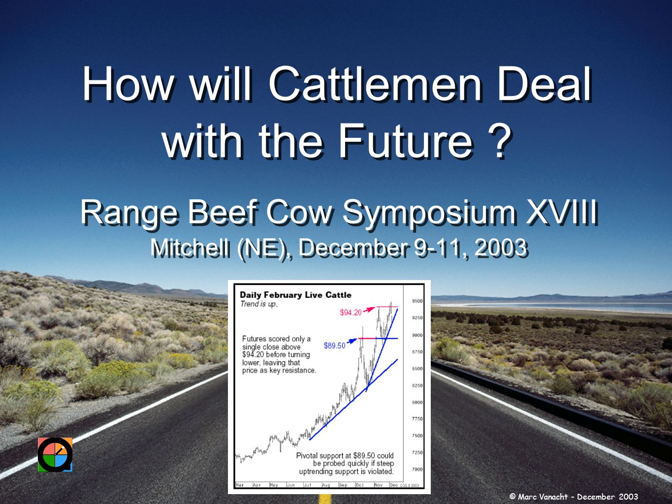 How will Cattlemen Deal with the Future .