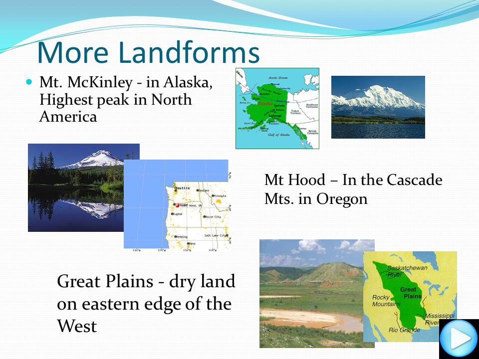 More Landforms Mt.