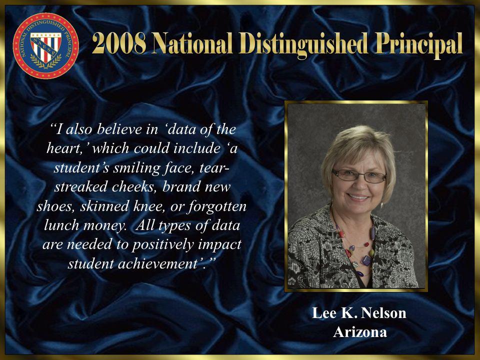 Nancy L.Turner South Carolina (M) Good enough isn't.